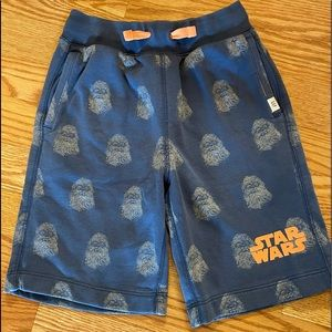Gap kids star wars Chewbacca sweatshorts